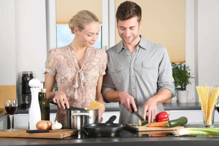 Kitchen Products man & woman